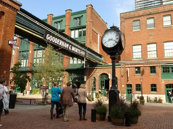 Distillery District, Toronto, Ontario