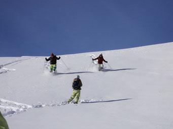 Schneeschuhrennen