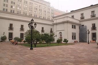 Innenhof des Präsidentenpalastes