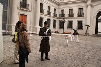 Privatführung in den sonst geschlossenen Präsidentenpalast
