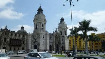 Lima - der Präsidentenpalast