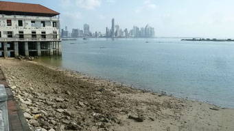 Sicht auf Neu Panama City von Casco Viejo