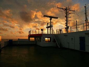 Und nochmals Sonnenuntergang...