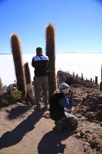 Isla de Huari - es gibt viel zu photografieren