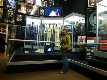 Einige Kostüme von Elvis, Granceland, Memphis