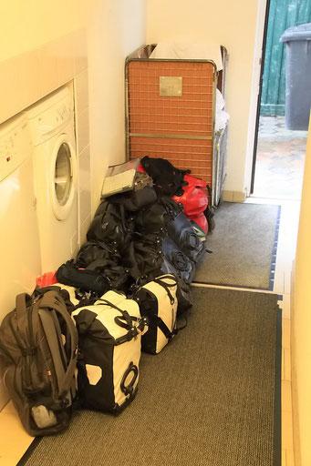 So viel Gepäck kommt zusammen