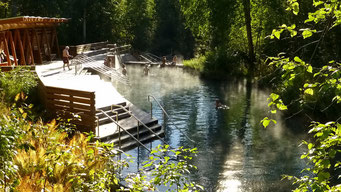 Liard Hot Springs, Alaska Highway, Kanada