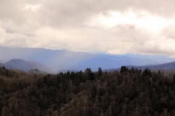 Fahrt durch die Smoky Mountains