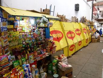 Sucre - bekannte Marken auch hier