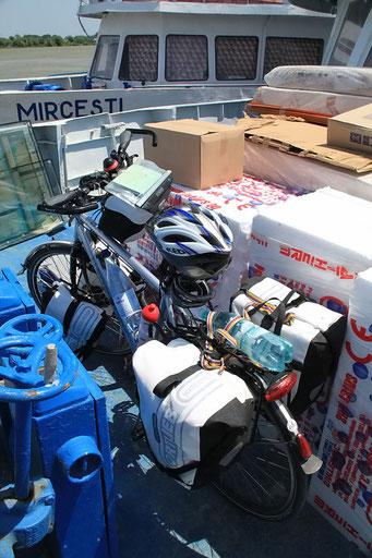 Unsere Fahrräder sind verladen