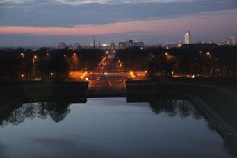 Leipzig bei night