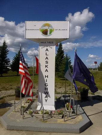 Ende des Alaska Highway, Alaska