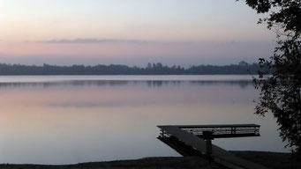 Abendstimmung auf der Bruce Halbinsel, Lake Huron, Ontario