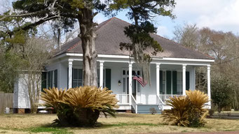 Antebellum Villen im Mississippi-Delta