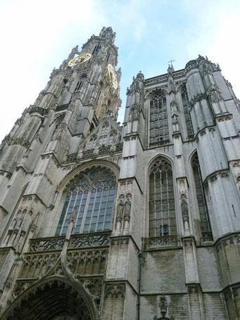 Die Kathedrale von Antwerpen