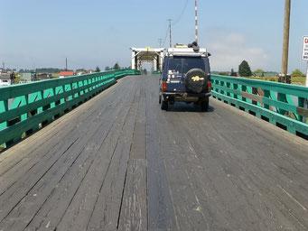 Brücke nach Westham Island