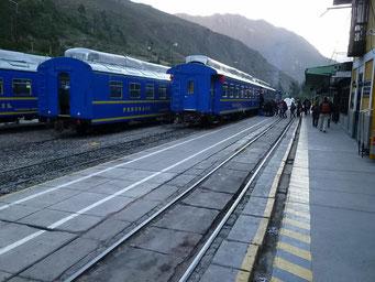 Bahn auf Peruanisch