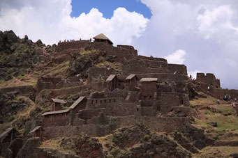 Die Inca Ruinen von Pisac