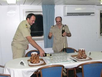 Ein Job für den Kommandanten und den Chef Ingenieur    ©Marion&Alfred