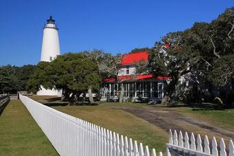 Leuchtturm, Ocracoke, NC, USA