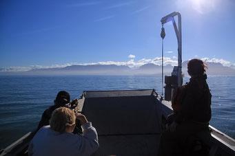 Wassertaxi zur Rusty's Lagoon, Alaska