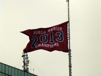"Und wer hat die ""Worldseries"" im Baseball gewonnen? Die Redsox, Boston, Massachusetts"