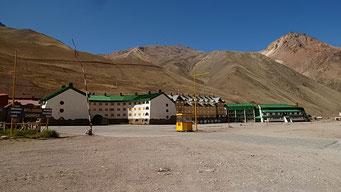 Skigebiet in den Anden