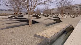 9/11 Memorial beim Pentagon