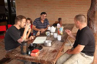 Frühstück mit Ramon