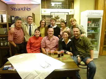"""Familienfoto"" mit den Burry's and friends"