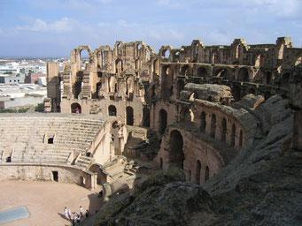 Kolosseum in El Jem