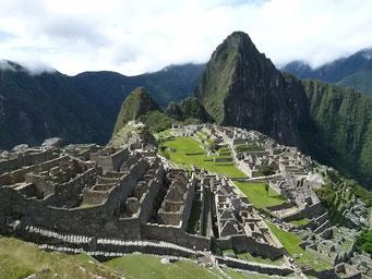 ... wir sind auf dem Machu Pichu