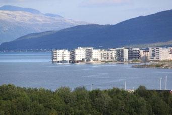 Moderne Pfahlbausiedlungen,Tromsø