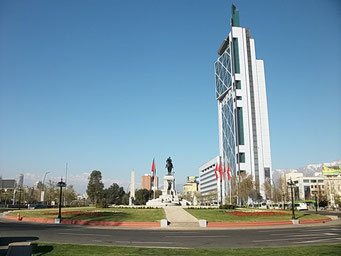 Der Handy-Tower von Santiago