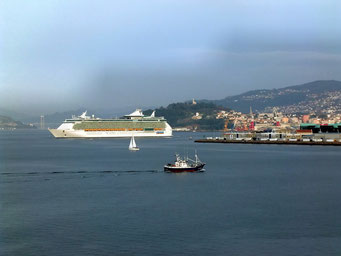 Hafen von Vigo