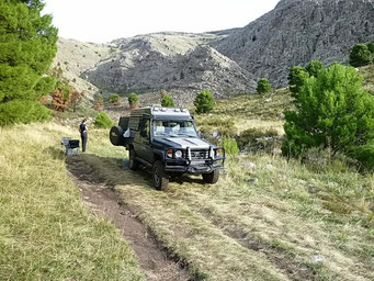 Bushcamping im P.P. Tornquist