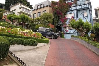 Lombard Street - Beweisfoto: Wir waren da!