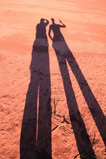 Cerro Cora N.P. - auch keine Monster, nur unsere Schatten
