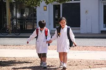 Schüler in Tandil