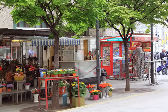 Strassenladen in Wien