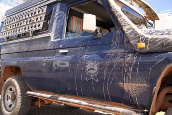 Da wäre wieder einmal Autowaschen angesagt!