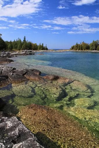Bruce Peninsula N.P., Lake Huron, Ontario
