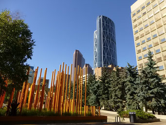 Olympia Plaza, Downtown Calgary