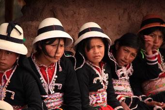 Die Inca Ruinen von Pisac - ... eine Attraktion...