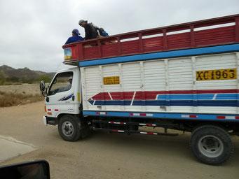 Lastwagen könne auch verschieden verwendet werden. So...