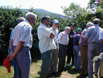 Près du rucher de Raymond Coutisson à Serrières de Briord