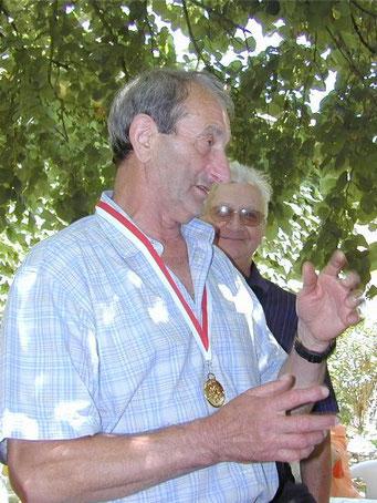 Raymond Coutisson à Serrières de Briord.