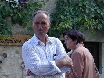 François Buchs, caissier de la Société d'Apiculture du Nord Vaudois