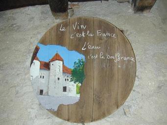 Dans la cave du Château de Vareppe