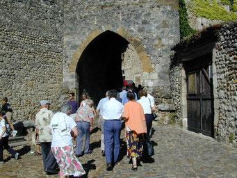 Pérouges, un village magnifiquement conservé.